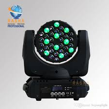 2019 <b>UK WAREHOUSE Rasha</b> 4X 36*3W Cree 4in1 RGBW LED ...