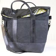 Womens Black <b>Canvas</b> Handbags