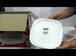 <b>Столовый сервиз</b> Luminarc Lotusia <b>30</b> предметов H3902 - YouTube