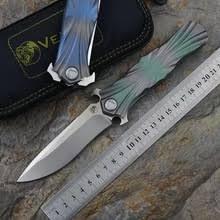 Кевин <b>нож</b> JOHN <b>VENOM T</b> M390 лезвие из титанового сплава + ...