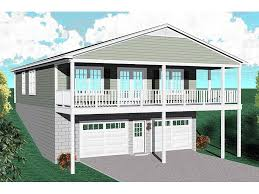 ideas about Carriage House Plans on Pinterest   Garage Plans    Carriage House Plans   Carriage House Plan for a Sloping or Waterfront Lot   G