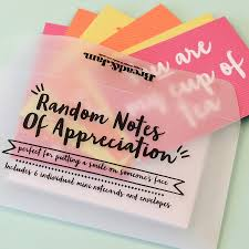random notes of appreciation notecards by b jam random notes of appreciation notecards