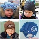 Вяжем спицами шапку для ребенка