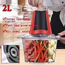 2L Electric Chopper Powerful Meat Grinder Stainless ... - Amazon.com