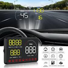 Speedometers <b>W02</b> HUD Head Up Display <b>5.5inch</b> Windshield ...