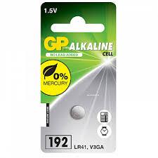 <b>Батарейка AG3</b> (LR41, V3GA, SR41, G3, 392, 392A, 192) GP 1 шт.