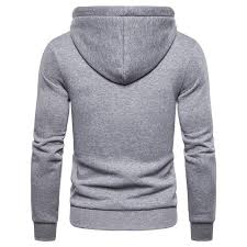 2019 <b>New Autumn</b> Winter Cotton Hoodied <b>Mens</b> Sweatshirts Solid ...
