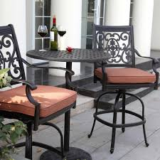 bar height patio chair: high bistro patio set high bistro patio set high bistro patio set