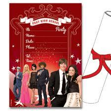 high school musical senior year scroll invitations partyware high school musical senior year scroll invitations