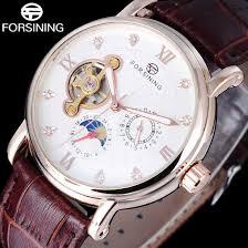 <b>FORSINING Men's</b> Watches Top Brand Luxury Tourbillon <b>Skeleton</b> ...