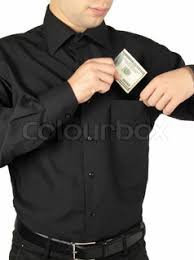 Image result for money in shirt pocket images
