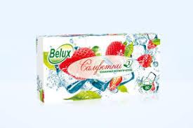 Купить <b>Косметические салфетки Belux</b> 80л, 2-сл. белые в ...