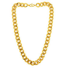 Memoir Gold Plated <b>Super Thick</b> and Broad 14mm/20 Inch/123Gms ...