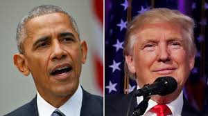 Image result for images of donald trump and barack obama