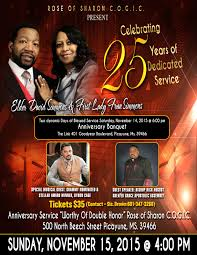 2015 mississippi southern second church of god in christ please pay special attention to the anniversary banquet that is scheduled on saturday night 14 featuring recording artist byron cage