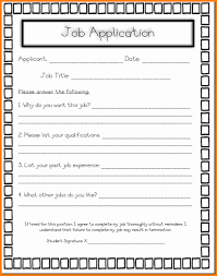 4 kids job application form ledger paper bank store paycheck just a day in the life of a