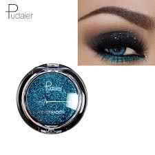 <b>Pudaier Glitter Eyeshadow Smokey</b> Eye Shadow 20 Colors ...
