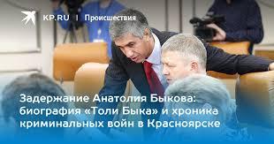Задержание Анатолия Быкова: биография «Толи Быка» и ...