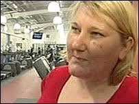 Tracy Howard - _44201105_gym_woman203