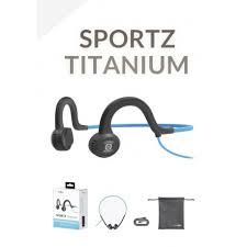 <b>Sportz Titanium</b> : nouveau casque audio filaire à conduction osseuse