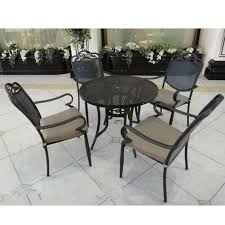 patio furniture wrought iron tables and chairs leisure furniture iron patio tables black wrought iron outdoor furniture