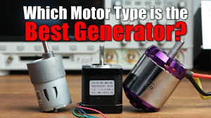 Which Motor <b>Type</b> is the Best Generator? || DC, BLDC or Stepper ...