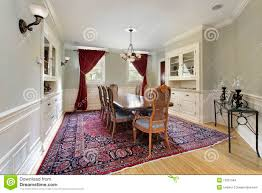 Built In Cabinets Dining Room Dining Room With Built Ins Stock Images Image 13351564