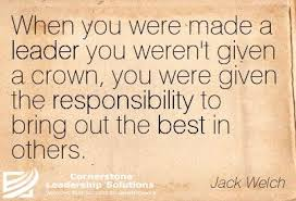 Leadership, Jack Welch, Perspective | Inspiring Quotes | Pinterest ... via Relatably.com