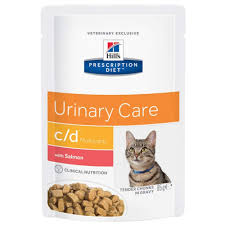 <b>Hills Prescription Diet</b> Feline c/d <b>Multicare</b> Urinary Care - Salmon ...