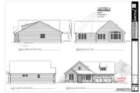 Houseplans Package   House Blueprints   Home Floor Plan DesignsElevations Page Example
