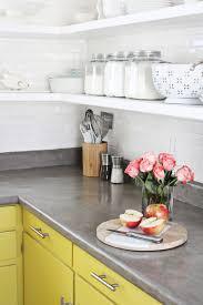 Diy Tile Kitchen Countertops Concrete Countertop Diy A Beautiful Mess