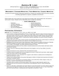 sample trade marketing manager resume strategic marketing sample trade marketing manager resume