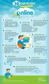 scam ways to make money online infographic scam make money infographic