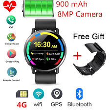<b>DM19</b> 4G <b>Smart Watch</b> Android 7.1 With 8MP Camera GPS 2.03 ...