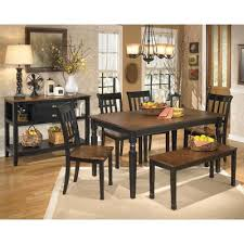 narvilla pc dining set owingsville d  pc dining set dining room middot signature design owing