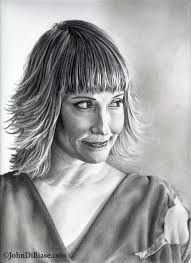 In July, 2012, I felt inspired by listening to the latest Sixpence None The Richer album, Lost In Translation, to work on a new portrait of Leigh Nash. - leigh-nash-drawing-2012_print