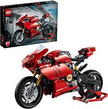 <b>LEGO</b> 42107 <b>Technic Ducati Panigale</b> V4 R Motorbike, Collectible ...