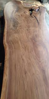wood slab dining table beautiful: would make a beautiful bar at kitchen island black walnut slab sanded and finished blacks farmwood
