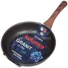 <b>Сковорода</b> с антипригарным покрытием <b>Kukmara</b> Granit Ultra ...