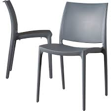 Modern & Contemporary <b>Stacking Outdoor Chairs</b>   AllModern