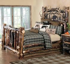stylish rustic cedar and aspen log beds reclaimed furniture design ideas aspen log bedroom furniture decor brilliant log wood bedroom