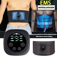 Big Sale #d7fe - <b>Smart Slimming Belt</b> EMS Abdominal Apparatus ...