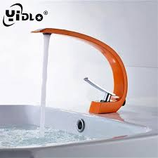 2018 <b>YiDLon</b> Basin <b>Faucets</b> Modern Bathroom <b>Mixer Tap Brass</b> ...