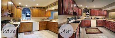 How Reface Kitchen Cabinets Refacing Kitchen Cabinets Before And After Photos Best Kitchen