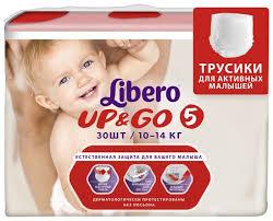 <b>Libero трусики Up</b> & Go 5 (10-14 кг) 3... — купить по выгодной ...