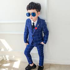<b>Dollplus</b> 2019 Boy Blazers <b>Suit Boys Suits</b> Formal <b>Suit for Kids</b> Boy ...