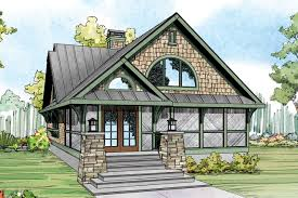 Narrow Lot House Plans   Narrow House Plans   House Plans for    Craftsman House Plan   Glen Eden     Front Elevation