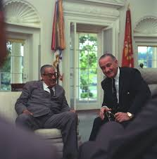 lbj presidential library research meeting regarding announcement of thurgood marshall s nomination as an associate justice of the supreme court of