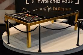 pool table dining tables: contemporary pool table convertible dining tables not specified gold