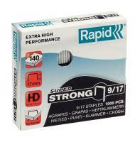 <b>Скобы 9/17 Rapid</b> Super Strong 1M, <b>1000шт</b> купить, цена в Санкт ...